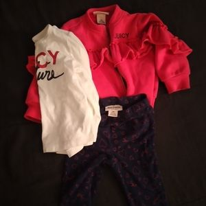 3pc 18m Juicy Couture